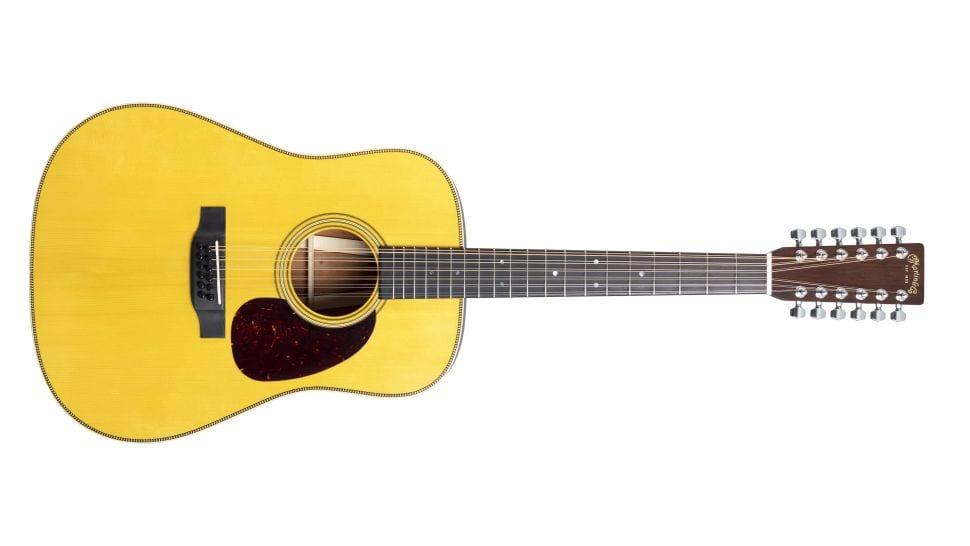 Martin David Gilmour D-35 12-string
