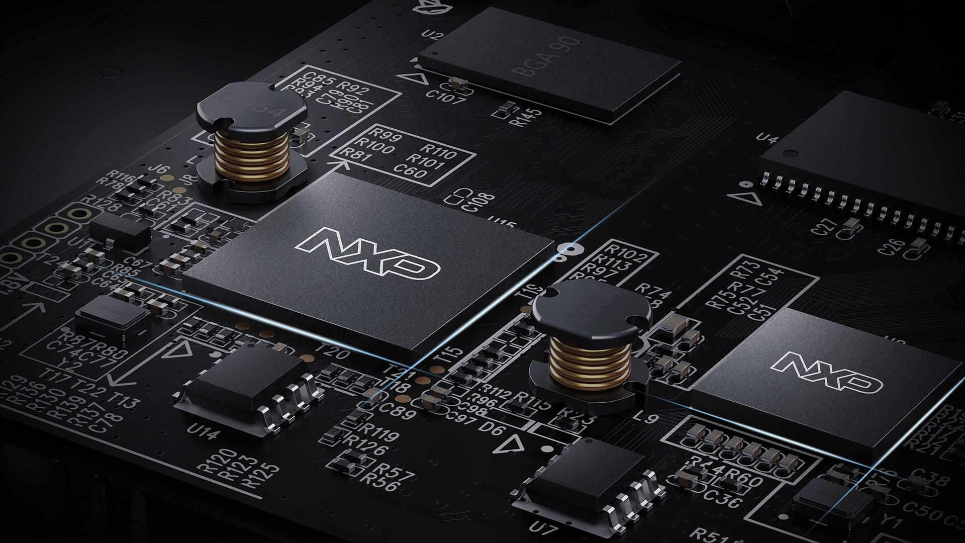 NUX MG-30 has two NXP RT processors