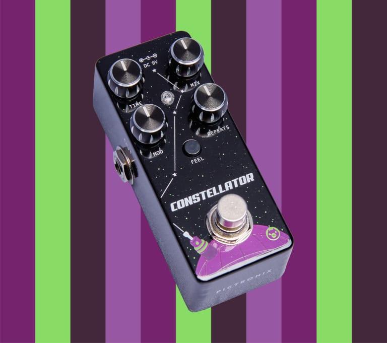 Pigtronix Constellator. analogue delay pedaljpg