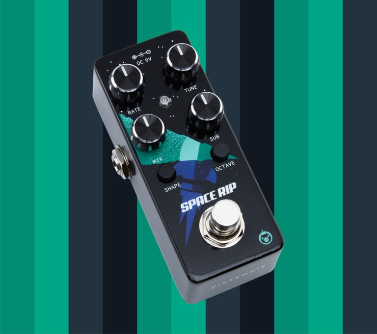 Pigtronix Space Rip PWM analog synth pedal