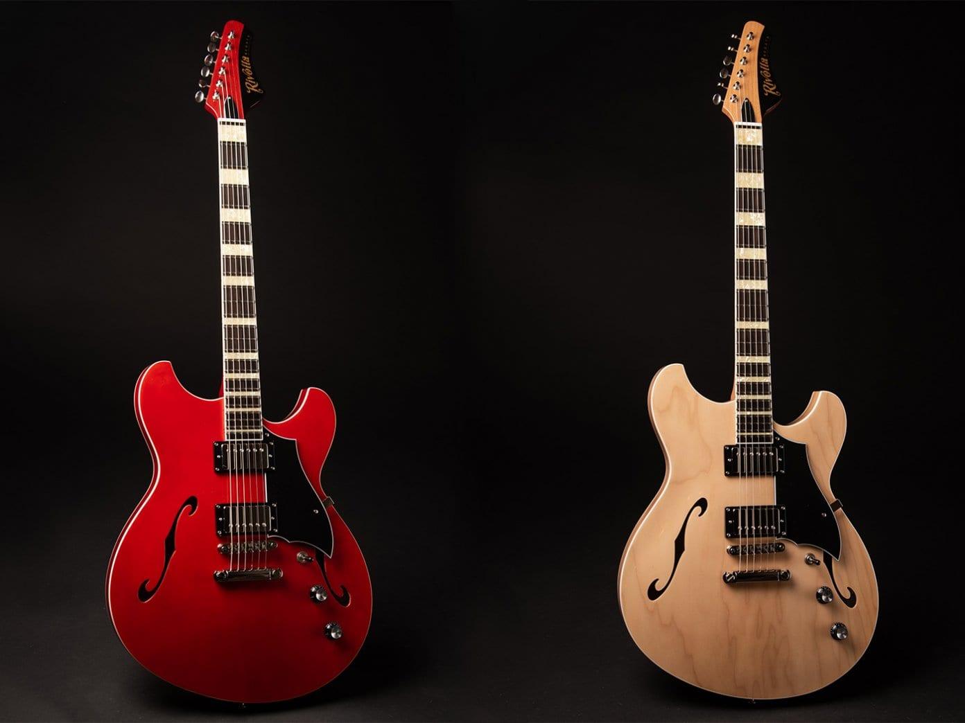 Rivolta Guitars Regata II new semi-hollow offset model