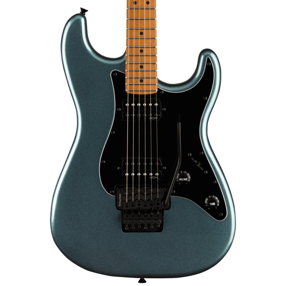 Squier Contemporary Stratocaster HH FR Roasted Gunmetal Metallic