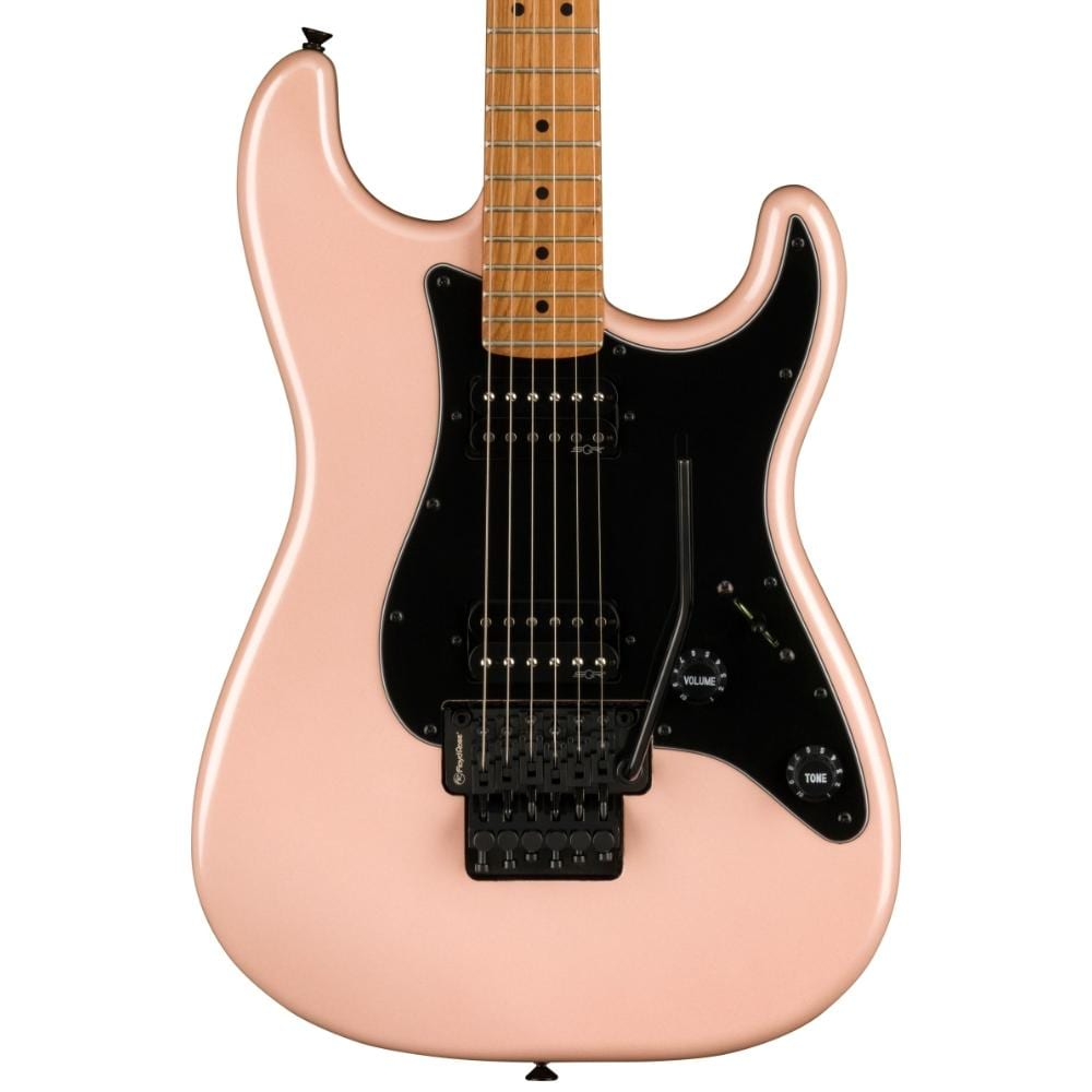 Squier Contemporary Stratocaster HH FR Roasted Shell Pink Pearl
