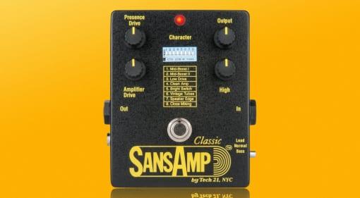 Tech21 Sansamp Classic reissue
