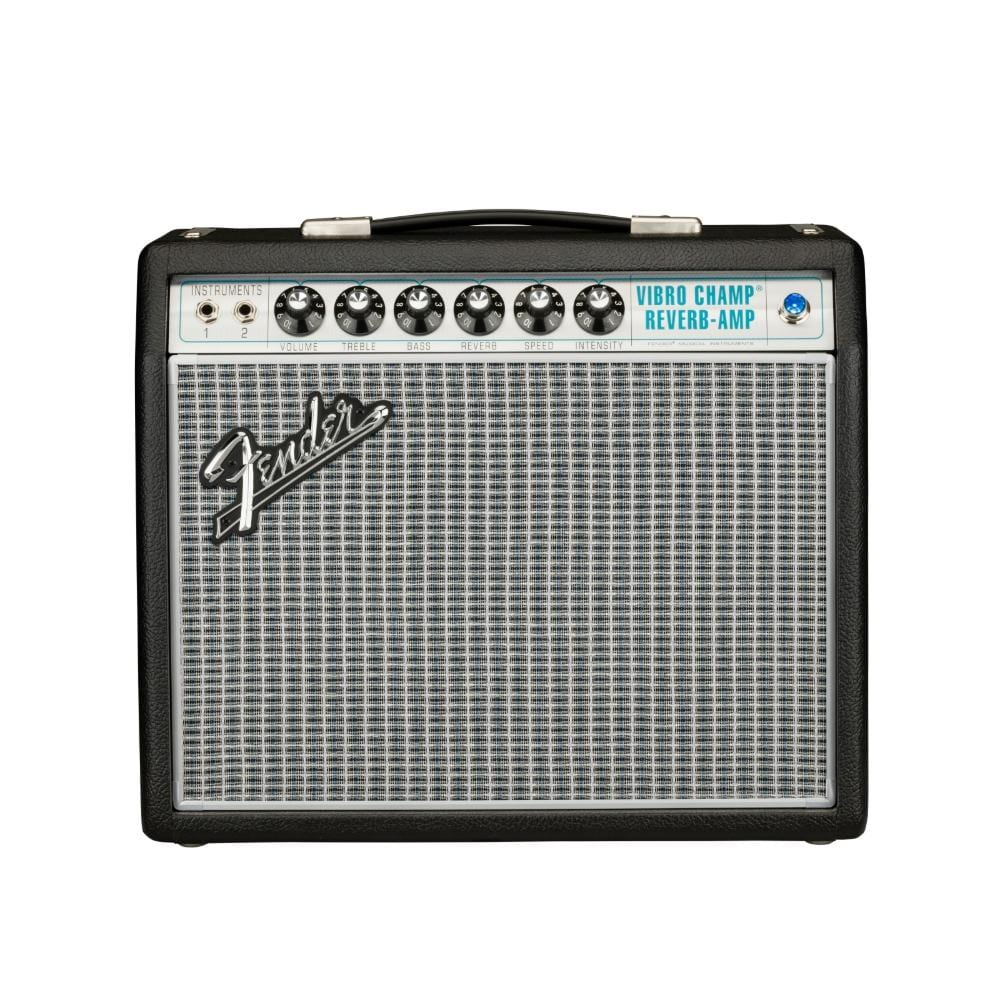 Fender Vintage Modified '68 Vibro Champ (with digital hall reverb and a 10 speaker?) - $750