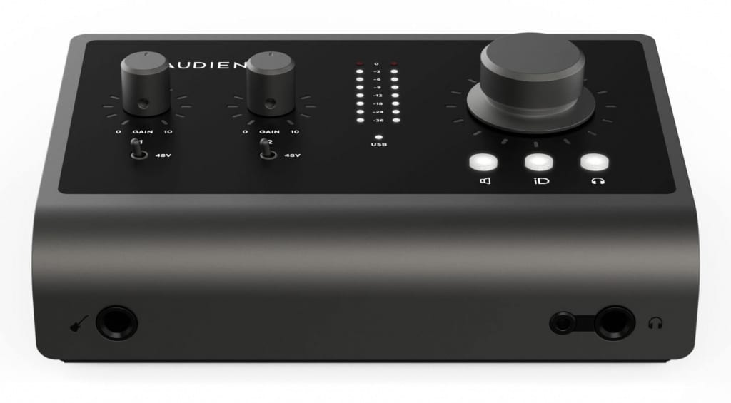 Audient iD 14 MKII front side