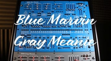 Behringer 2600 Blue Marvin and Gray Meanie