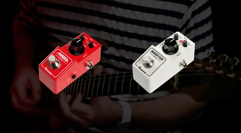 Ibanez Mini Booster and Mini Phaser