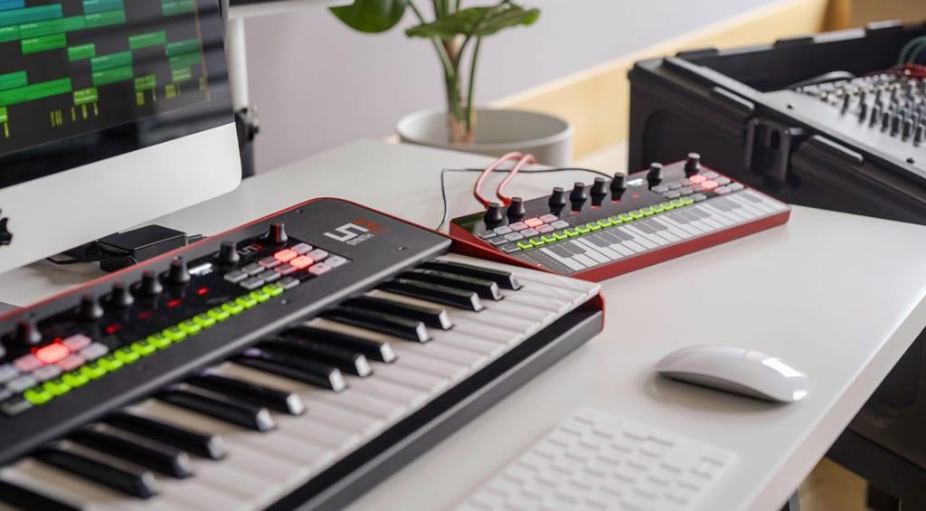IK Multimedia UNO Synth Pro and Desktop