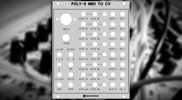 Wavefonix Poly-8 MIDI-to-CV