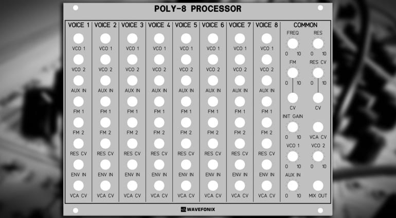 Wavefonix Poly-8 Processor
