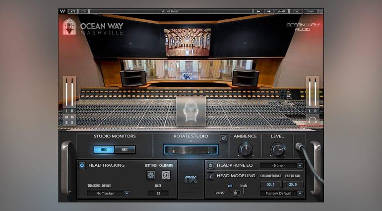 Waves Nx Ocean Way Nashville plug-in promises pro headphone mixing