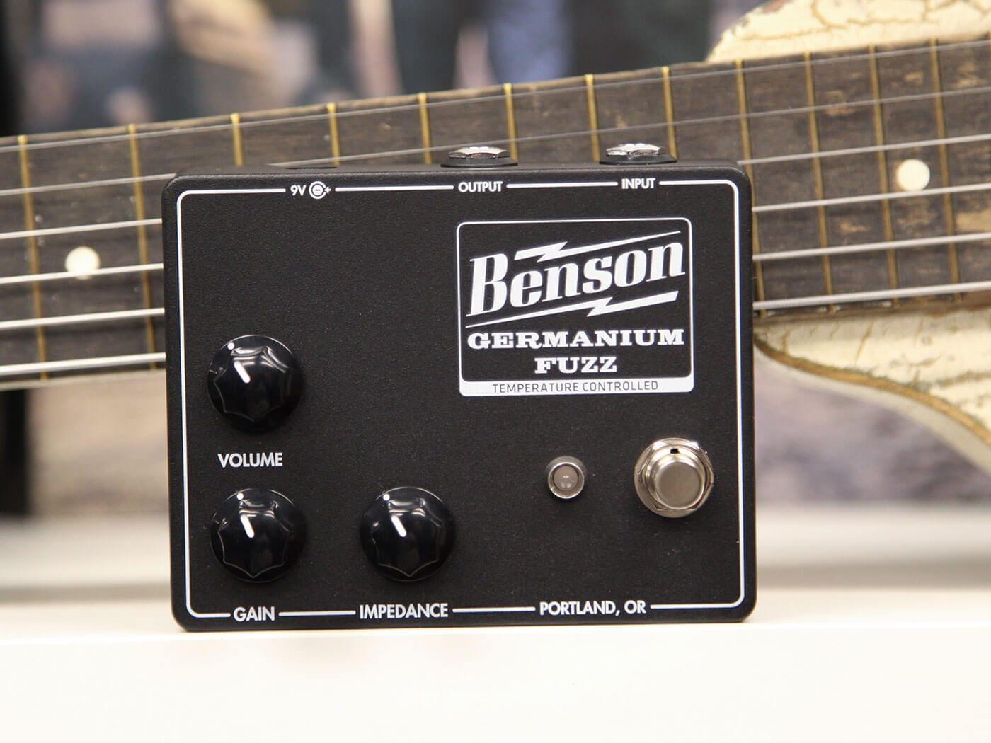 Benson Amps Germanium Fuzz pedal