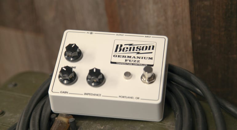 Benson Amps Germanium Fuzz with thermal biassing