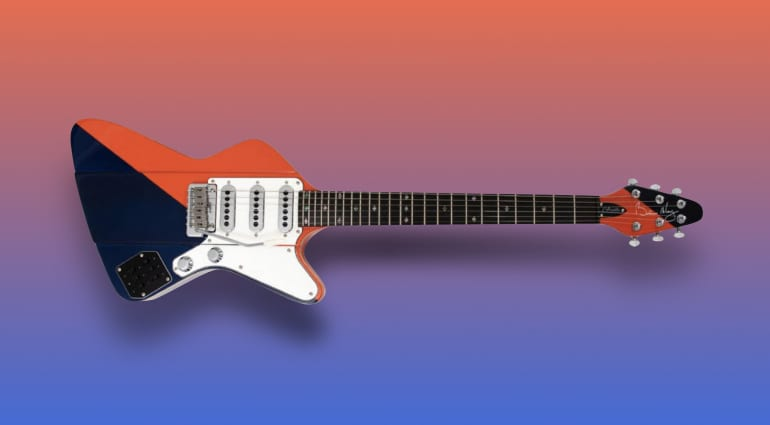 Brian May Guitars Arielle Two Tone