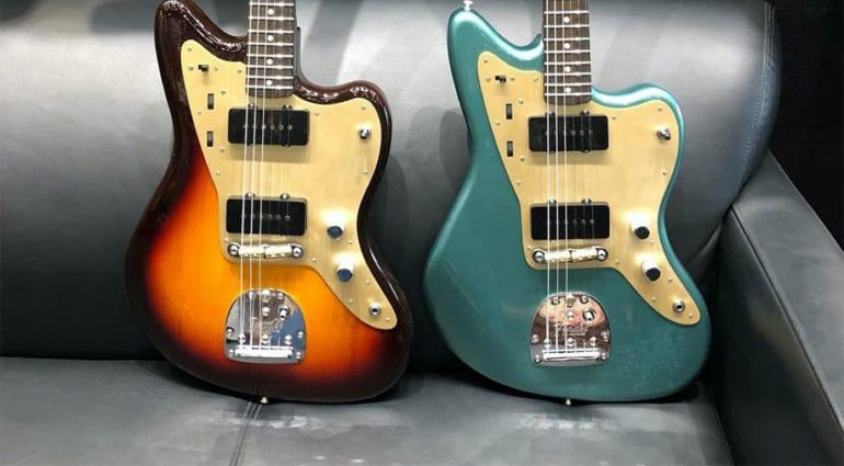 Fender Jazzmasters Dennis Galuszka via Instagram