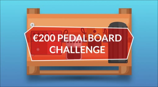 Gearnews 200 Euro Pedalboard Challenge