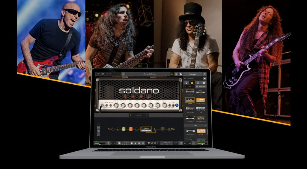 You can now download the IK Multimedia Soldano SLO-100 Head for AmpliTube 5 for free!