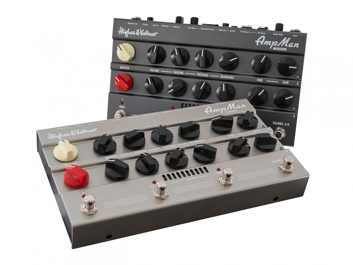 Hughes and Kettner AmpMan Classic and Modern