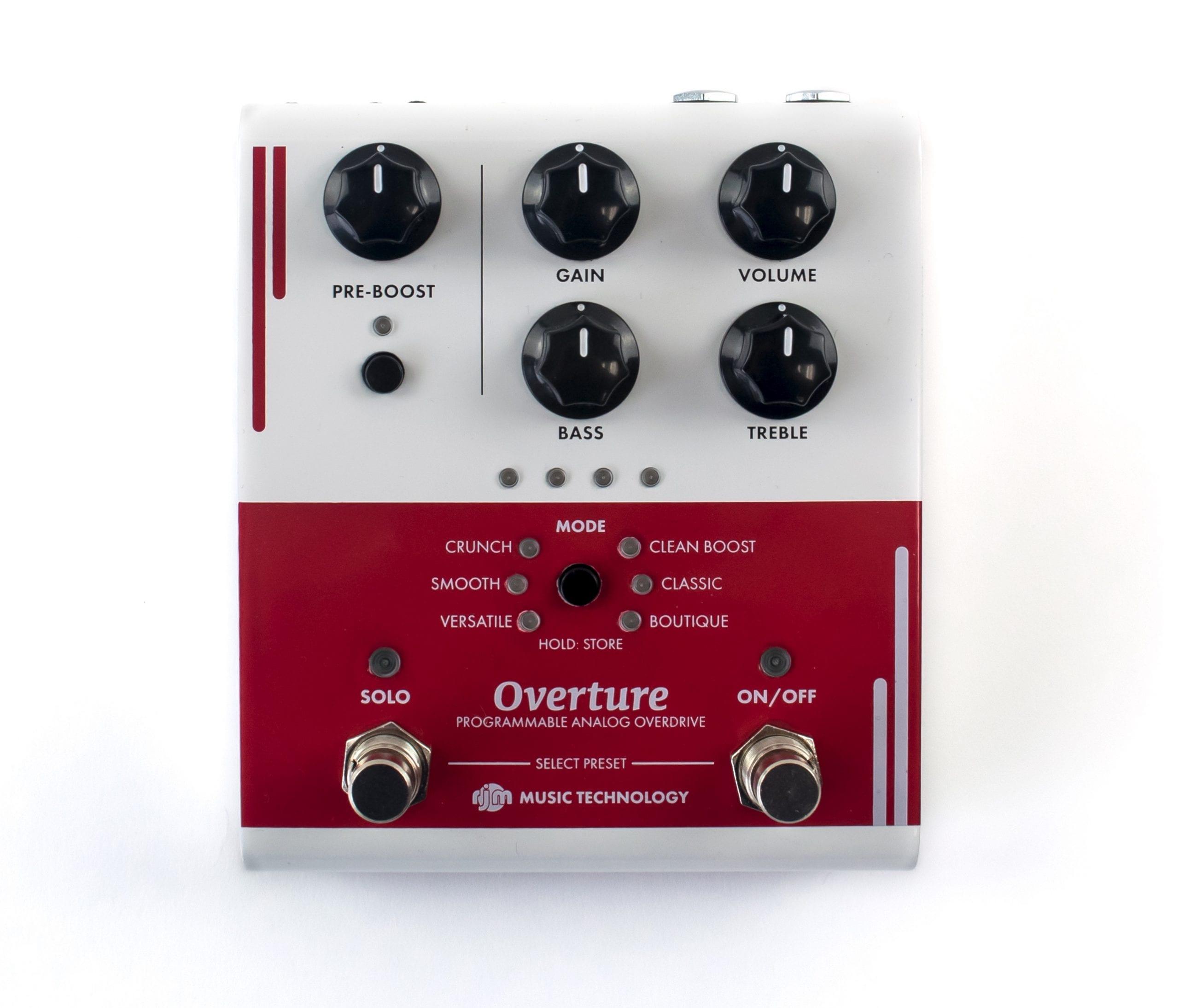 RJM Music Overture overdrive pedal