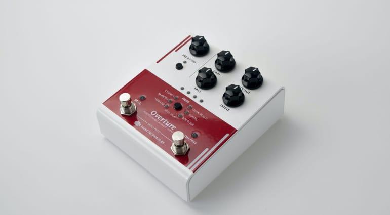 RJM Overture programmable analog overdrive