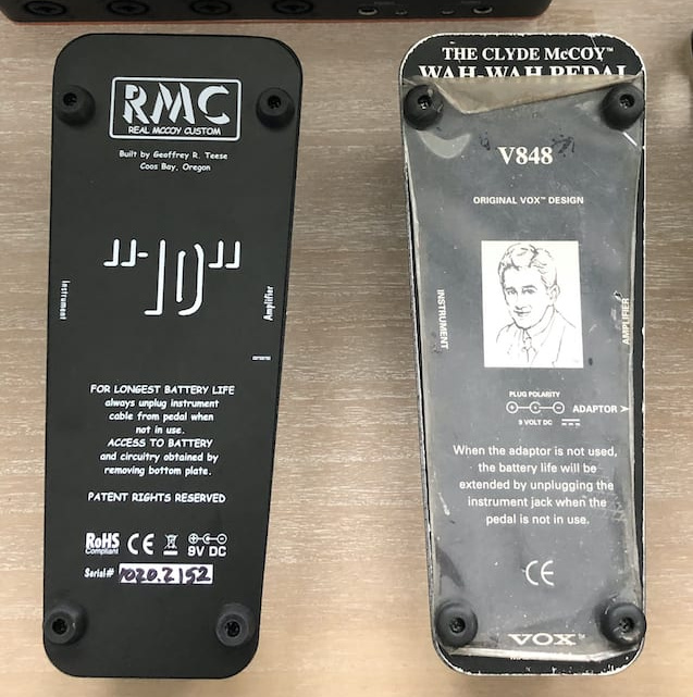 RMC10 and VOX back plates