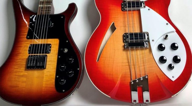 Rickenbacker 480XC and 4005XC bass