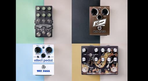 The Pedal Movie Way Huge, Walrus Audio, Z.Vex and Chase Bliss Audio