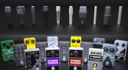 Audified AmpLion 2 Rock Essentials Effects & Mics
