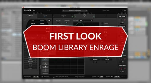 Boom Library Enrage First Look Review