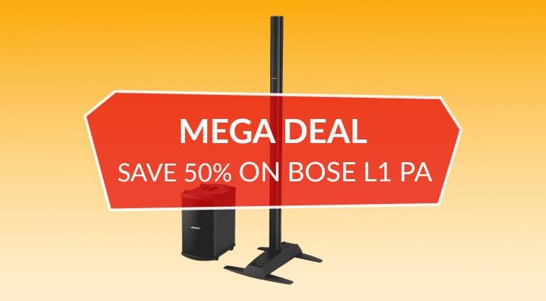 Bose L1 PA Line Array Deal