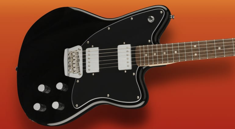 DEAL- Fender Squier Paranormal Toronado BK at €249 down from 459!!