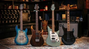 Ernie Ball Music Man Ball Family Reserve collection
