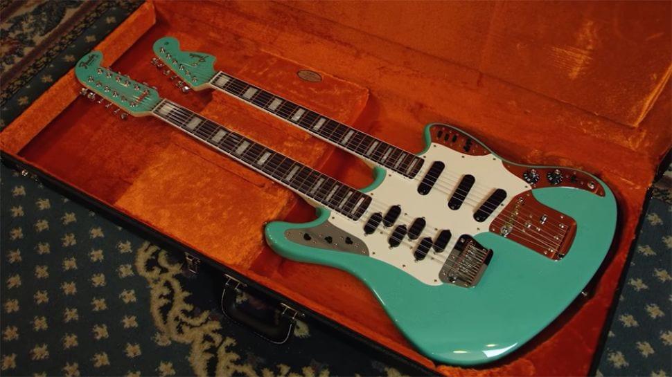 Fender Custom Shop Double Neck Marauder in Seafoam Green