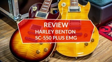 Harley Benton SC-550 Plus EMG Review
