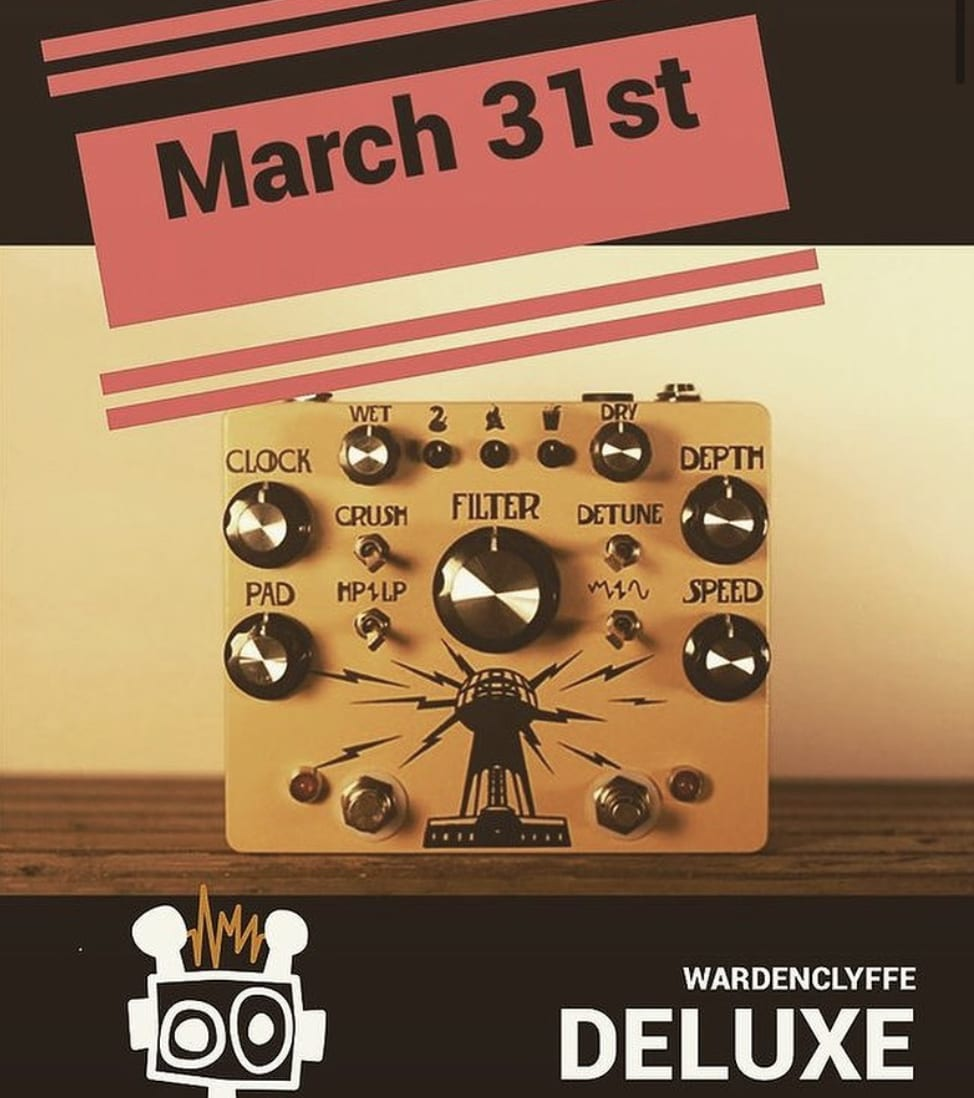 Hungry Robot - The Wardenclyffe Deluxe lo-fi ambient modulator