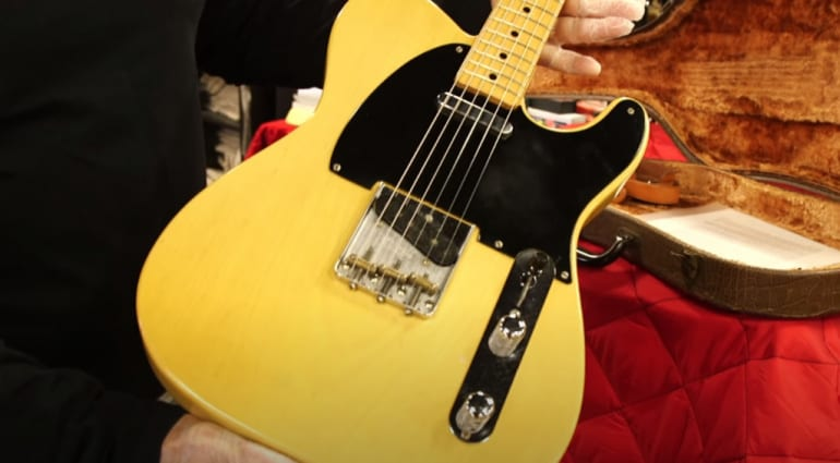 Is this the very first Telecaster ever?