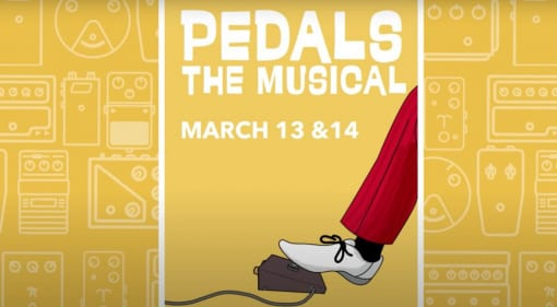 JHS Pedals Pedals The Musical has Josh Scott gone mad?