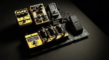 Jack White Third MAn Records Holeyboard pedalboard