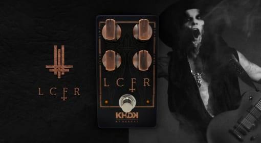KHDK Electronics LCFR overdrive/boost