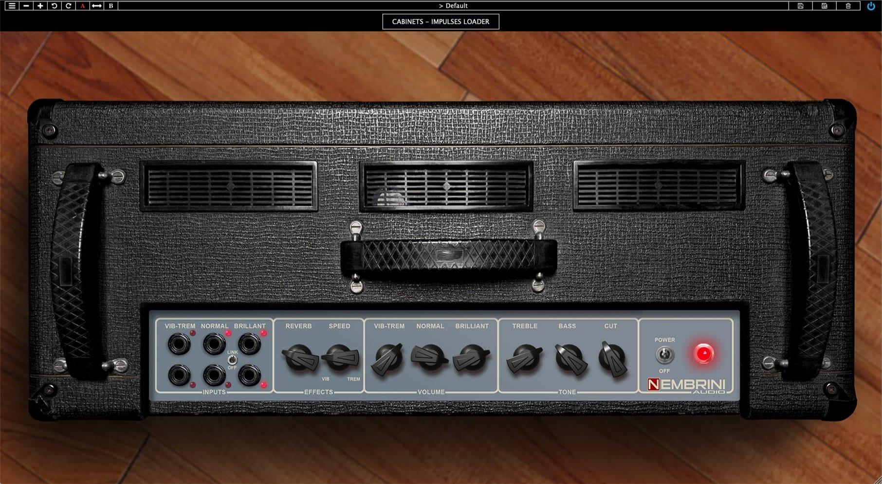 Nembrini Audio Voice DC30 Valve Guitar Amplifier