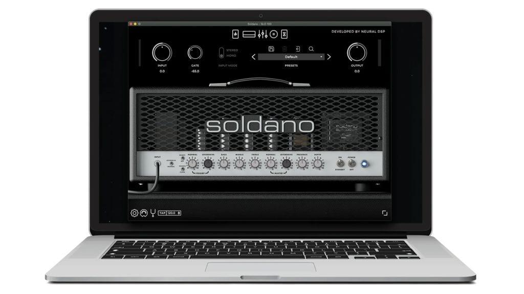 Neural DSP Soldano SLO-100 Suite plugin