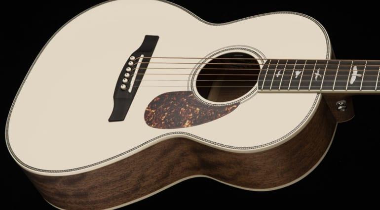 PRS Limited Edition Antique White SE Parlor Acoustics