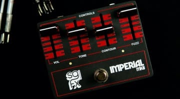 SolidGoldFX Imperial MKII Muff-style Gated Fuzz based on the JEN Jumbo Fuzz
