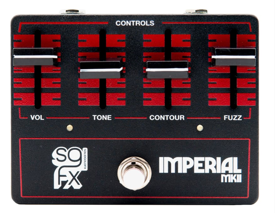 SolidGoldFX Imperial MKII Muff-style Gated Fuzz