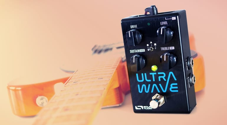 Source Audio Ultrawave Multiband Processor Overdrive and Tremolo
