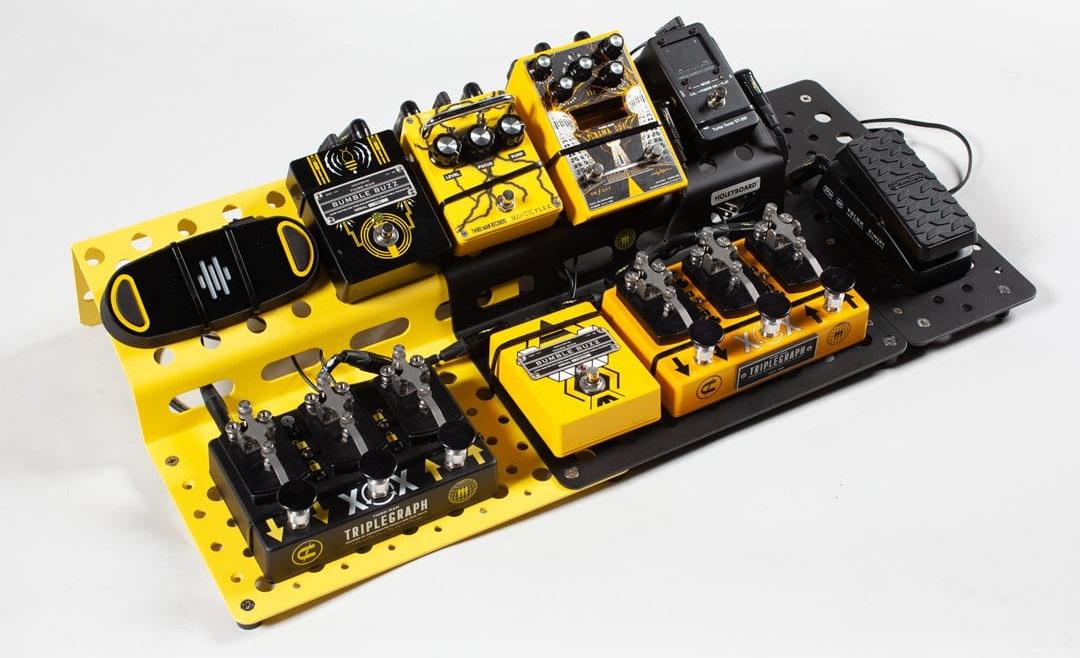 Third Man Records Holeyboard modular pedalboard