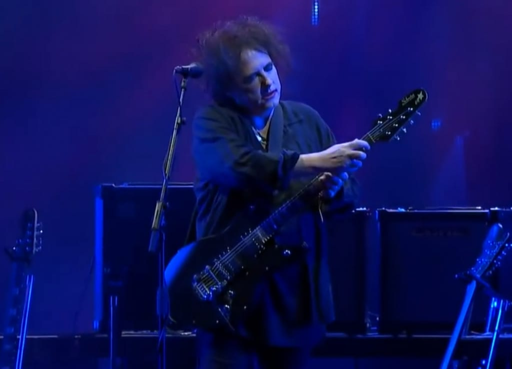 Live at Roskilde Festival 2019 with his Schecter UltraCure