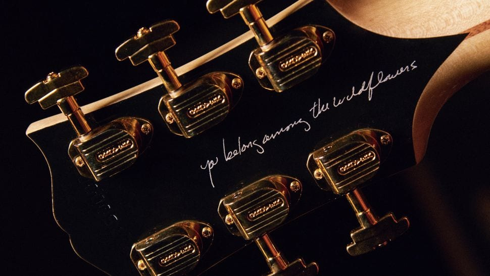 Gibson Tom Petty SJ-200 Wildflower You belong among the Wildflowers