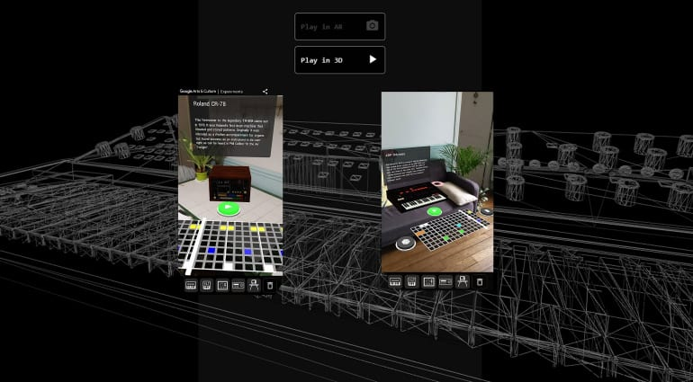 AR Synth on Android